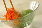 刺身コンニャクの酢みそ和えの作り方2