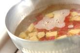 サツマイモとリンゴのサラダの作り方1