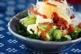 豆腐とワカメのサラダ
