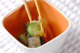 たたきキュウリの酢の物の作り方1