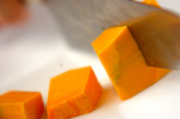 カボチャのキャラメルソテーの作り方1