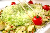 お肉のサラダの作り方2