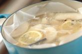梨のコンポートとジュレの作り方1