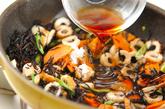 ちくわと芽ヒジキの炒め煮の作り方2