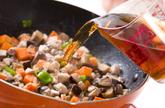 アジそぼろご飯の作り方2