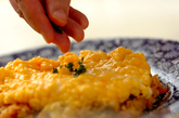 ふわふわ卵のオムライスの作り方5
