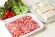 豆腐の照り牛肉のっけの下準備1