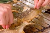 鮎の塩焼きの作り方2