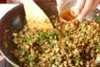 ひき肉納豆のレタス包みの作り方3