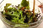 ヒジキとクラゲのサラダの作り方1