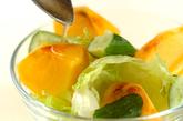 柿のサラダの作り方1