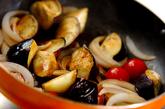 ナスとトマトのケチャップ煮の作り方2