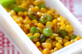 枝豆コーンサラダ