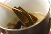 ハマグリと高野豆腐の煮物の作り方1