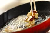 お芋と大豆のかき揚げの作り方3
