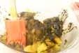 カボチャのゴマ汚しの作り方3