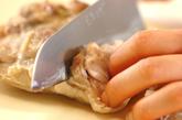 ゆで鶏・手作りゴマダレの作り方3