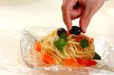 トマトとバジルの冷製パスタの作り方4