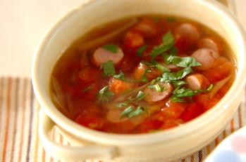 ゴボウのスープ