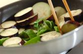 ナスとピーマンのみそマヨ炒めの作り方2