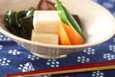 高野豆腐のふくめ煮