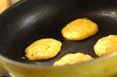 ジャックオランタンのどら焼きの作り方4