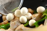 レンコンと卵のきんぴらの作り方1