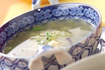 大根のホタテスープ