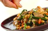豚肉入り健脳炒り豆腐の作り方3