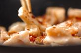 たたきレンコンのガーリック炒めの作り方1