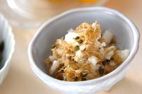 長芋のチリメン山椒和え