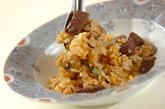 牛肉とマッシュルームのチャーハンの作り方3