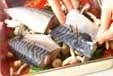 サバのニンニクトマト焼の作り方1