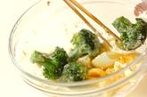 ゆで卵とブロッコリーのサラダの作り方2
