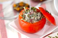 海藻とスプラウトのサラダ