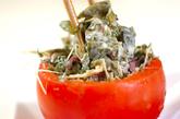 海藻とスプラウトのサラダの作り方2