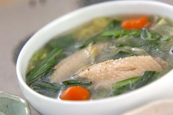 手羽と春雨のスープ