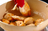 サッパリトマトソースチキンソテーの作り方1