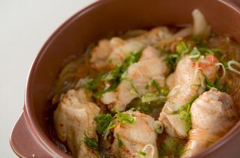 チキンピリ辛・土鍋蒸