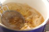 豆腐で量増し親子丼の作り方2