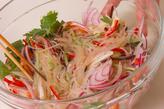 ピリピリ春雨サラダの作り方2