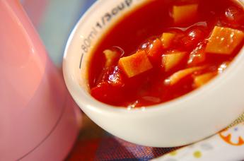 高野豆腐のミネストローネ