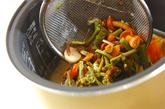 山菜おこわの作り方1