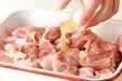 揚げ鶏の南蛮漬けの下準備1