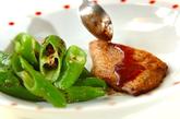 焼きトマト添え魚のムニエルの作り方4