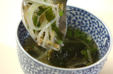 モヤシのヘルシースープの作り方2