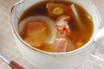 ベーコンのスープ