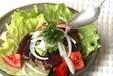 カツオのたたきサラダ風の作り方2