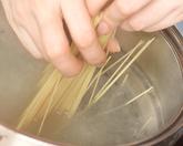 ペペロンチーノの作り方2
