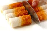 チーズ入りちくわの天ぷらの作り方1